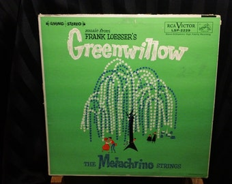 "The Melachrino Strings - Music from Frank Loesser's Greenwillow - LSP 2229 - 12"" vinyl lp, album (RCA Victor,1960) - RCA Living Stereo"