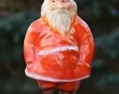 Antique Paper Mache Santa Claus Figure