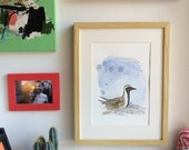Original Golden Plover Watercolour Painting  -  1/1