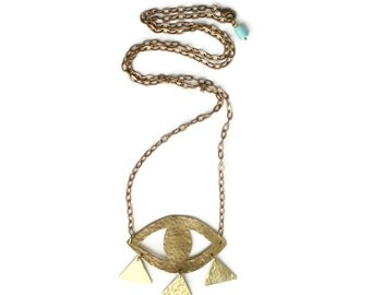 ORACLE - third eye necklace