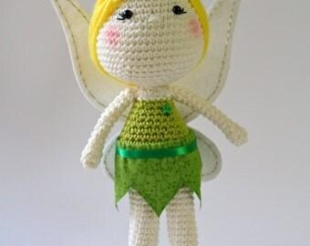 TINKERBELL Amigurumi Crochet Doll Made To Order