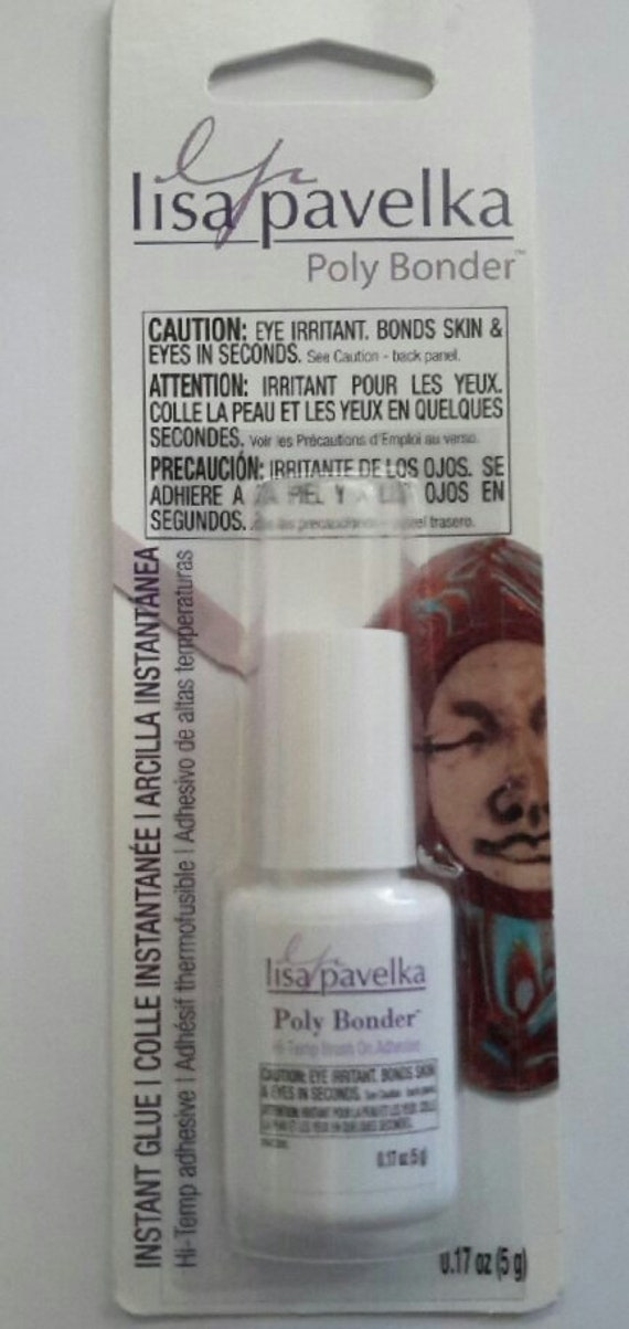 Polybonder, high temperature craft adhesive by Lisa Pavelka made to work with polymer clay and many other craft projects