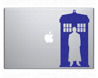 Doctor & Tardis Decal