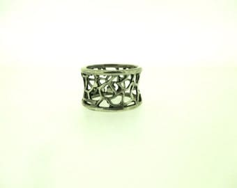 925 Sterling Silver Ring, Design by Porans, Israel