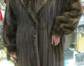 J MENDEL - Rare Full Length Mink Coat