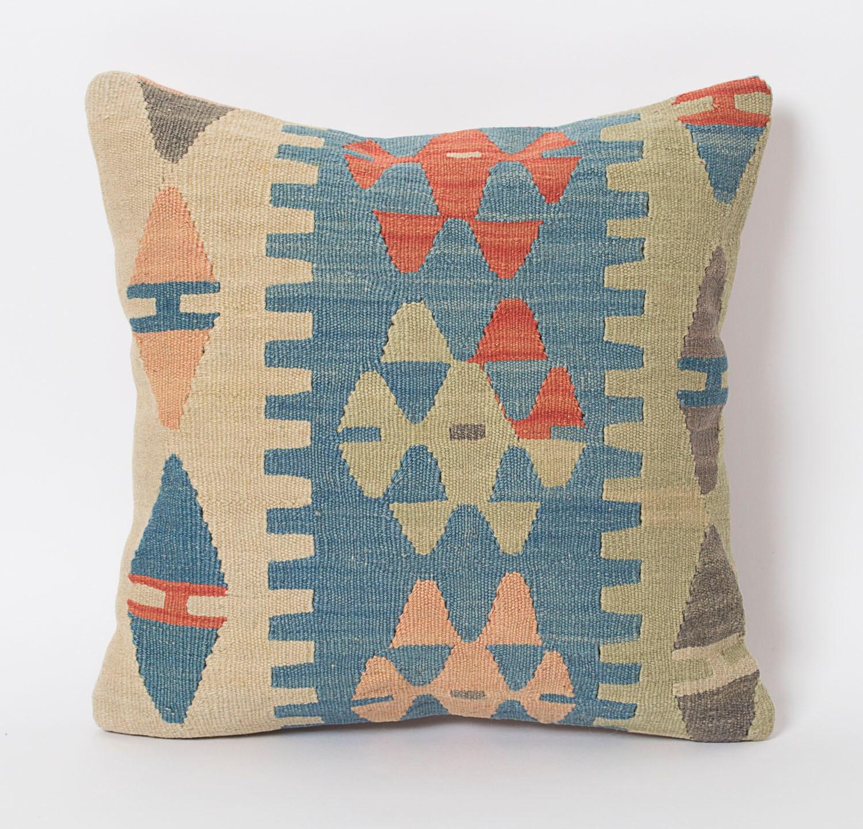 Pastel Kilim Pillow Kilim Pillows Etsy Bohemian Home By