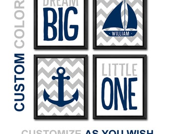 nautical baby decor anchor nursery sailboat nursery personalized nautical baby nursery nautical nursery wall decor nautical baby gift navy