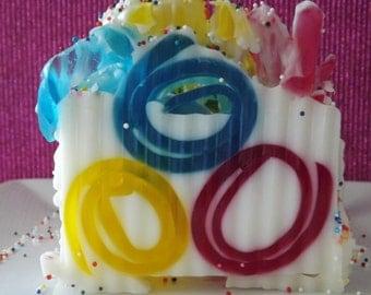 It's My Party -  Goat Milk Glycerin Soap Bar - Birthday Cake and Vanilla Buttercream.