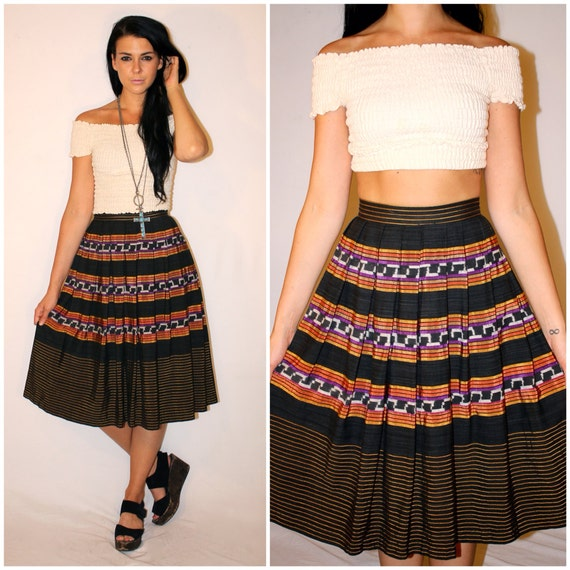 Vintage Mexican Skirt 55