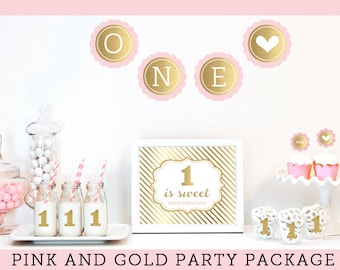 Popular items for 1st birthday themes on etsy for Baby girl first birthday decoration ideas
