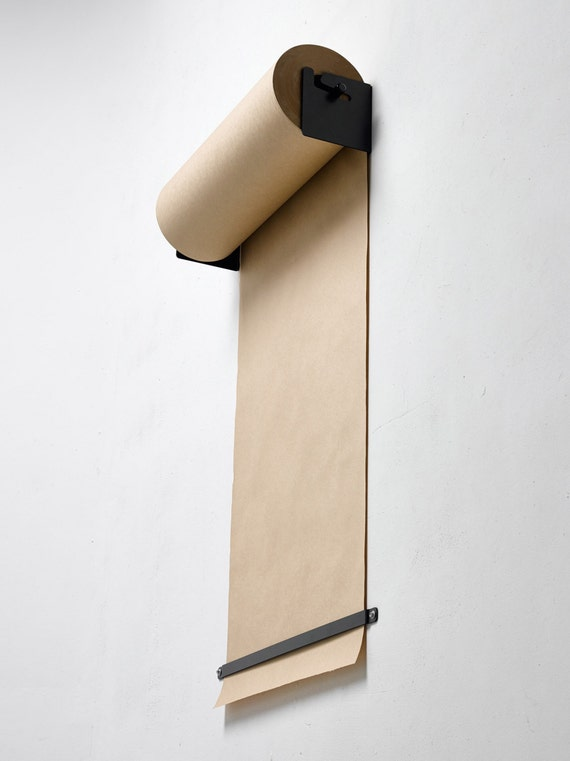 Wall Mounted Paper Roller By Georgeandwilly On Etsy