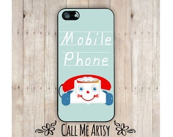 iPhone Case, Mobile Phone, iPhone 4 Case, iPhone 4S Case, iPhone 5 Case, iPhone 5C Case, Funny iPhone 6 Case, Funny iphone Case, Toy Phone