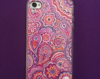 "Phone Case for iPhone 4/4S ""Crazy Choral"""