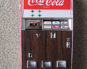 Vintage Coca Cola Musical Bank Limited Edition