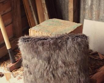 Husky Faux Fur Cushion Cover Faux Fur Pillow Slip