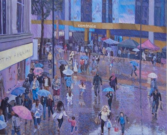 """Rain Dance, Print 12X10"""""""