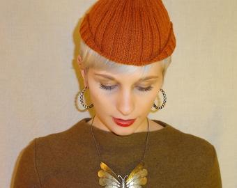 1930s Fashion Hat - Knit Cap