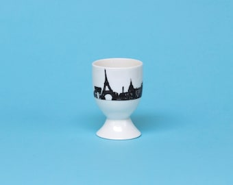 Paris Skyline Egg Cup