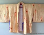 SALE 1960s MEISEN Style Haori KIMONO Cropped Boho Jacket Meisen