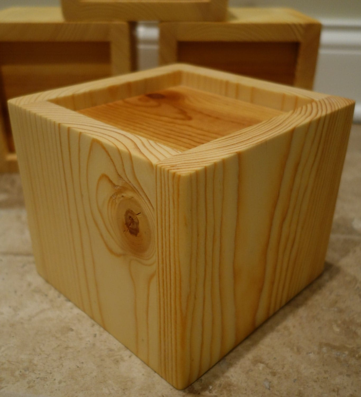 Custom Furniture Bed Risers 2 5 5 Handmade Solid