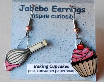 Baking Cupcakes Earrings