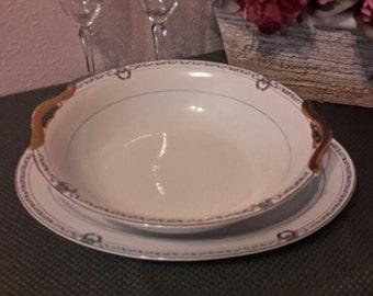 Noritake Briarcliffe, Noritake Bowl and Platter Set, Noritake China, Noritake Serving Pieces, Vintage Noritake, Gift Giving