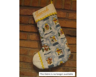 Made to Order Boys Personalized Christmas Stocking