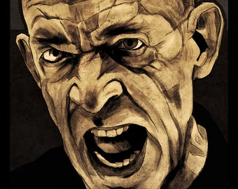 JK Simmons in Whiplash Poster - Not Quite My Tempo