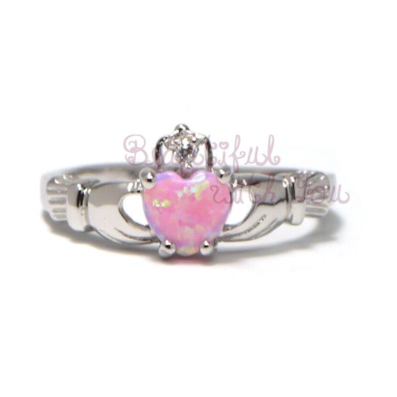 claddagh promise ring celtic ring sterling by beautifulwithyou