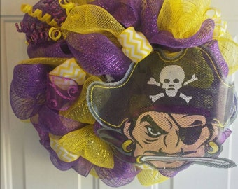 Purple Pirate Wreath!!
