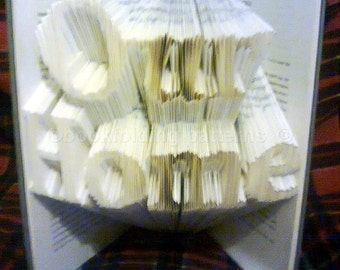 our home  book folding pattern