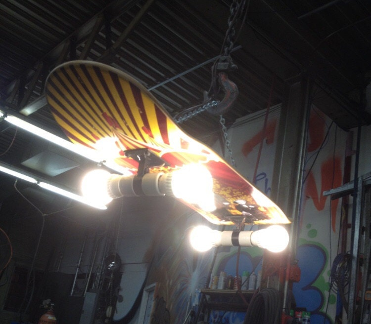 Lightning Skateboard Trucks Skateboard Truck Light Fixture
