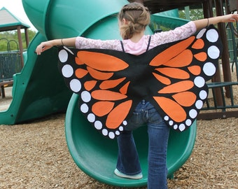 How to make butterfly costume wings - photo#9