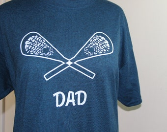 Dad Lacrosse custom t-shirt