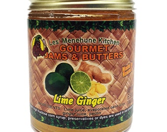Tahitian Lime Ginger Jam