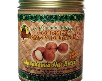 100% Kona Coffee Macadamia Nut Butter