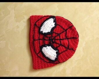 Boy's spiderman hat
