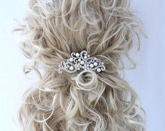 Bridal Hair Accessory, Bridal Hair Comb, Wedding Hair Comb, Rhinestone Hair Jewelry, Prom Hair Comb, Wedding Hair Jewelry, Bridal Hair Combs