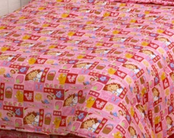 Strawberry Shortcake Fabric. Sold by the yard.