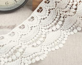 Antique Lace Vintage Lace Trim Cotton Chemical Lace  F0006