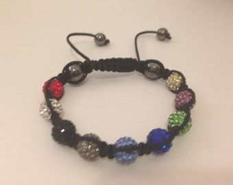 Psycho Circus Crystal Friendship Bracelet