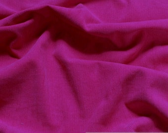 fabric pure cotton corduroy hot pink 1 mm