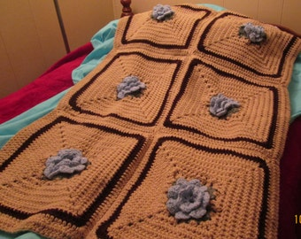 Baby Afghan/Baby Blanket/handmade/crochet