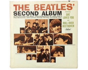 "The Beatles - ""The Beatles' Second Album"", T-2080, mono, first pressing, vintage vinyl LP, vg+/vg+"