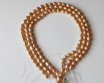 "Fresh Water Pearls 16""  ( #J962)"