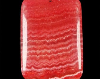 Red Vein Jade pendant  bead ( #J1016)