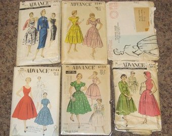 6 Vintage Dress Patterns
