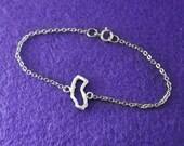 California Bracelet, Custom California Jewelry Personalized Map Bracelet, Map jewelry,custom map jewelry,California pendant