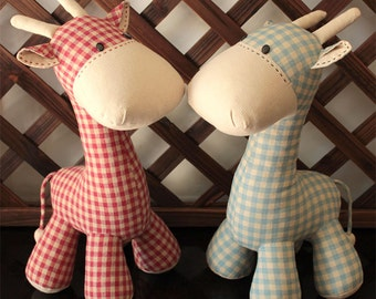 Giraffe - PDF Sewing Pattern & Tutorial Softie Suffed animal/toy