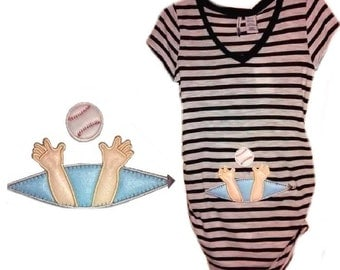 Just Reaching Baseball Maternity